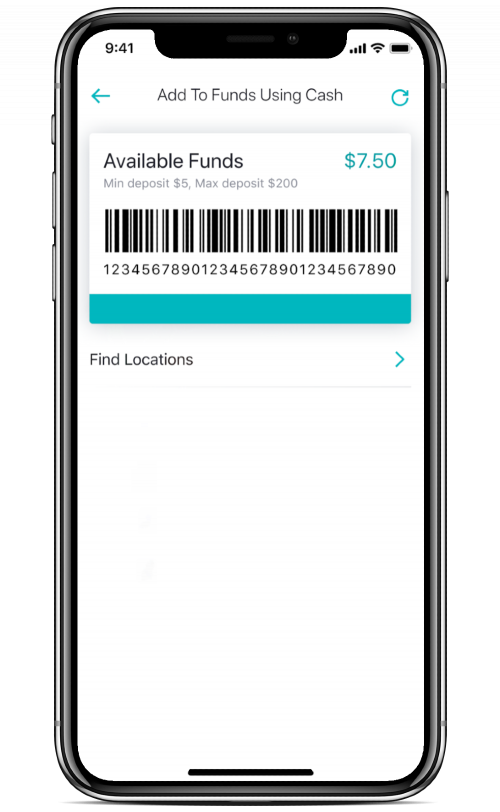 cash acceptance barcode